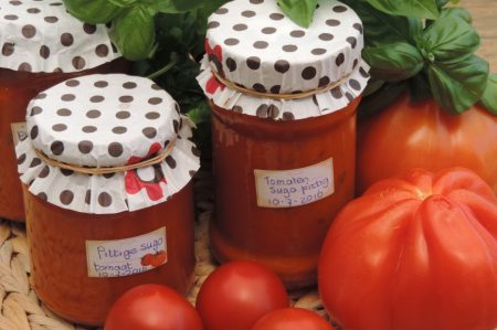 pittige tomatensaus van verse tomaten (6)
