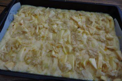 Appel citroen plaatcake recepten