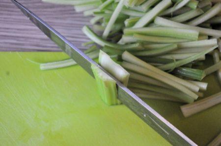 Bleekselderij spinazie en feta met filo 2