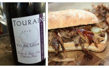 Rode wijn uit de Loire-streek, lekker chillen bij pulled pork!