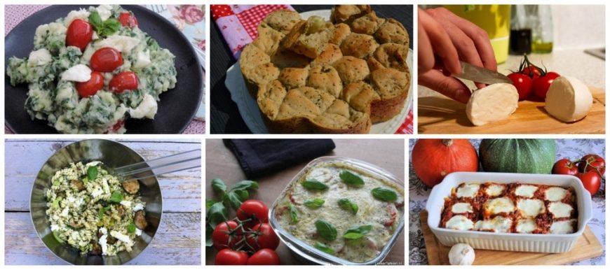 mozzarella recepten