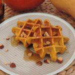 Pompoen havermout wafels – Gezond ontbijten in de herfst