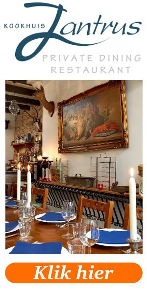 Aga Kookhuis Jantrus GOUDA Restaurant en Private Dining