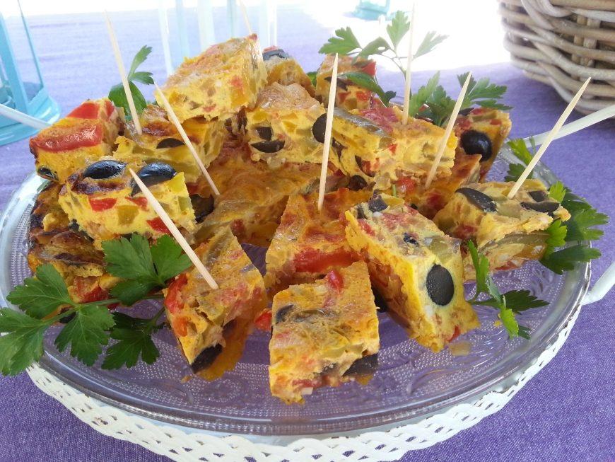 Huisgemaakte borrel bites - Geïnspireerd door de Spaanse Tortilla