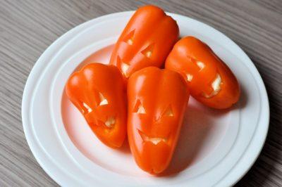 Halloween snack-paprika