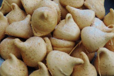 Mokka salted karamel schuimpjes