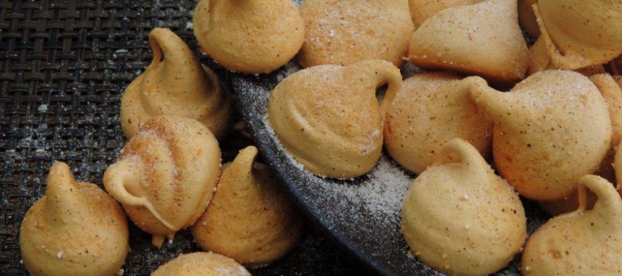 Mokka salted karamel schuimpjes; Heerlijke schuimpjes met een licht bittertje