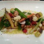 Gebakken zeetong met verse, knapperige groenten