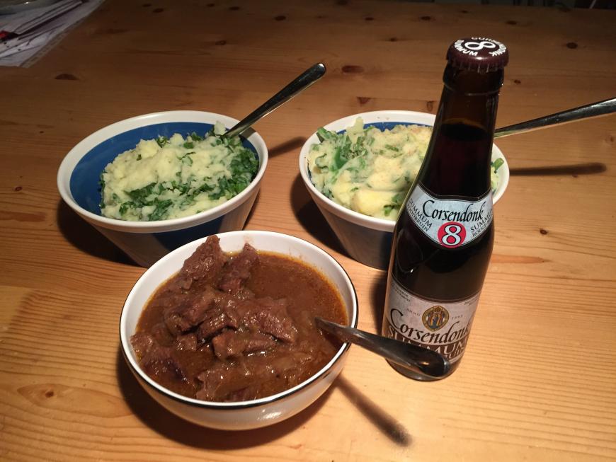 Stoofvlees met ontbijtkoek en bruin bier – een Vlaamse klassieker