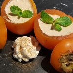 Gevulde kaki, een heerlijk maar vooral makkelijk dessert