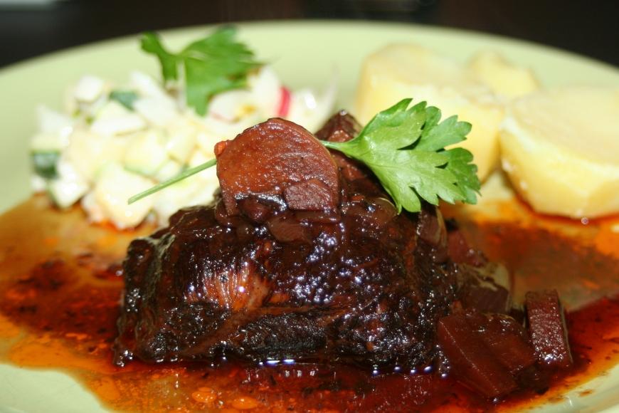 Kalfswang, subliem stoofvlees