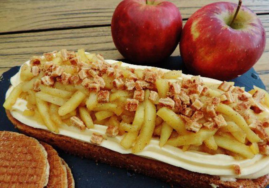 Slof met appeltjes of appelslof