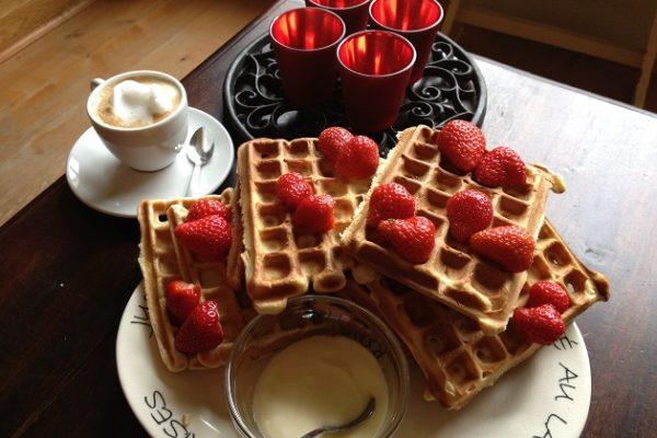 Ontbijten met Hollandse aardbei