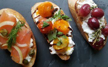 Bruschetta; 3 heerlijke variaties