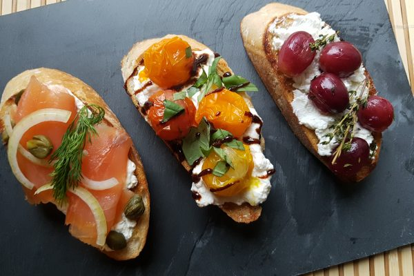 Bruschetta; 3 variaties