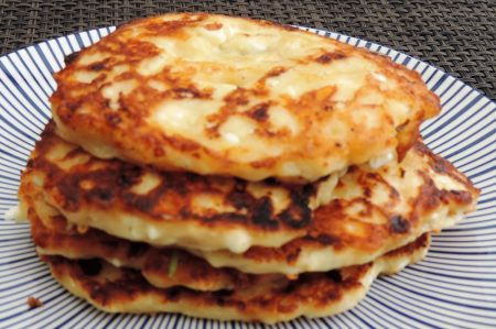 Cottage cheese pannenkoekjes