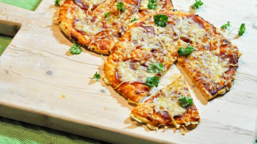 Pizza Hawaï & Pizza Salami; Zelfgemaakt het lekkerst