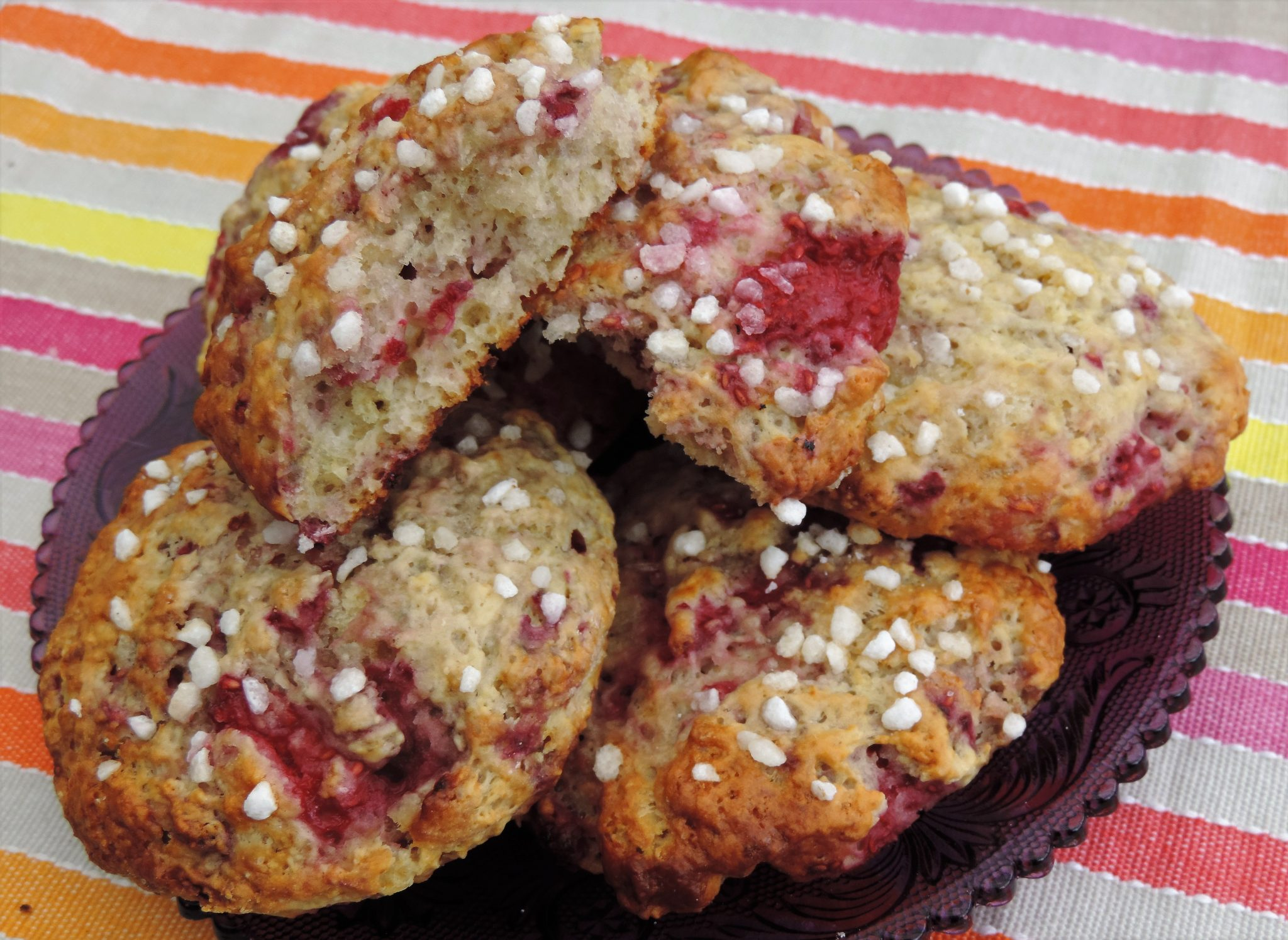 frambozen scones