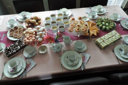 high tea recepten