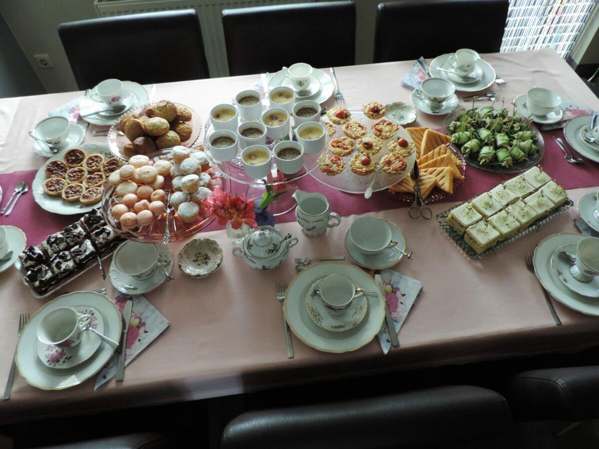 Bedwelming High tea recepten; Ideeën voor een heerlijke middag | Lekker Tafelen &YZ58