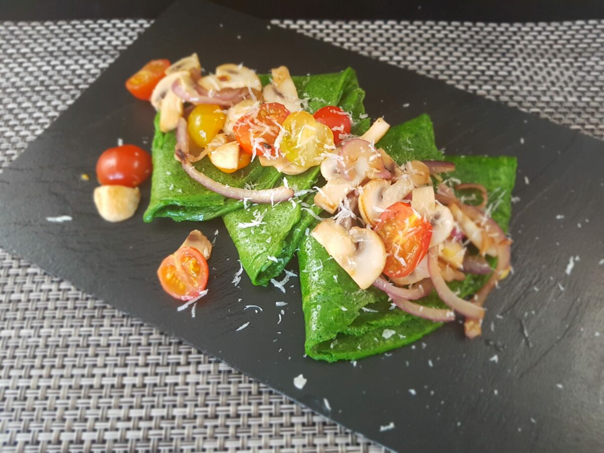 spinazie pannenkoeken