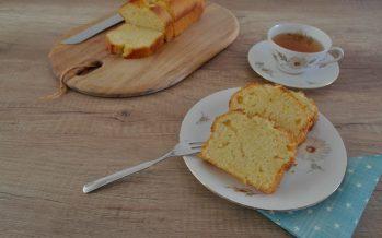 Yoghurt-sinaasappel cake (yaourtopita)
