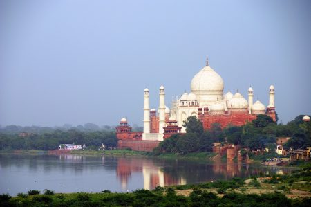 Indiase curry's taj mahal