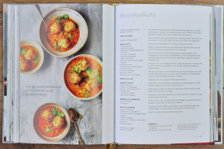 Spice for life cover pagina met foto bloemkool