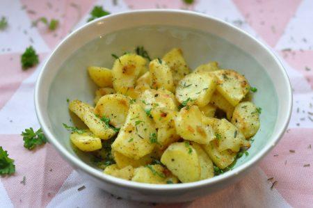 gekruide aardappelen header hele schaal