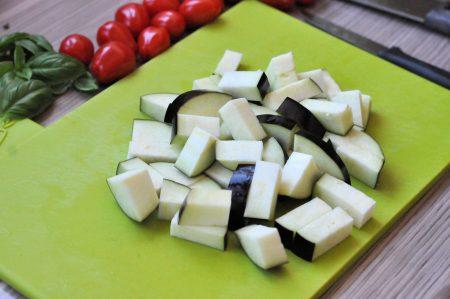 Gevulde paprika uit de oven la Italiana aubergine
