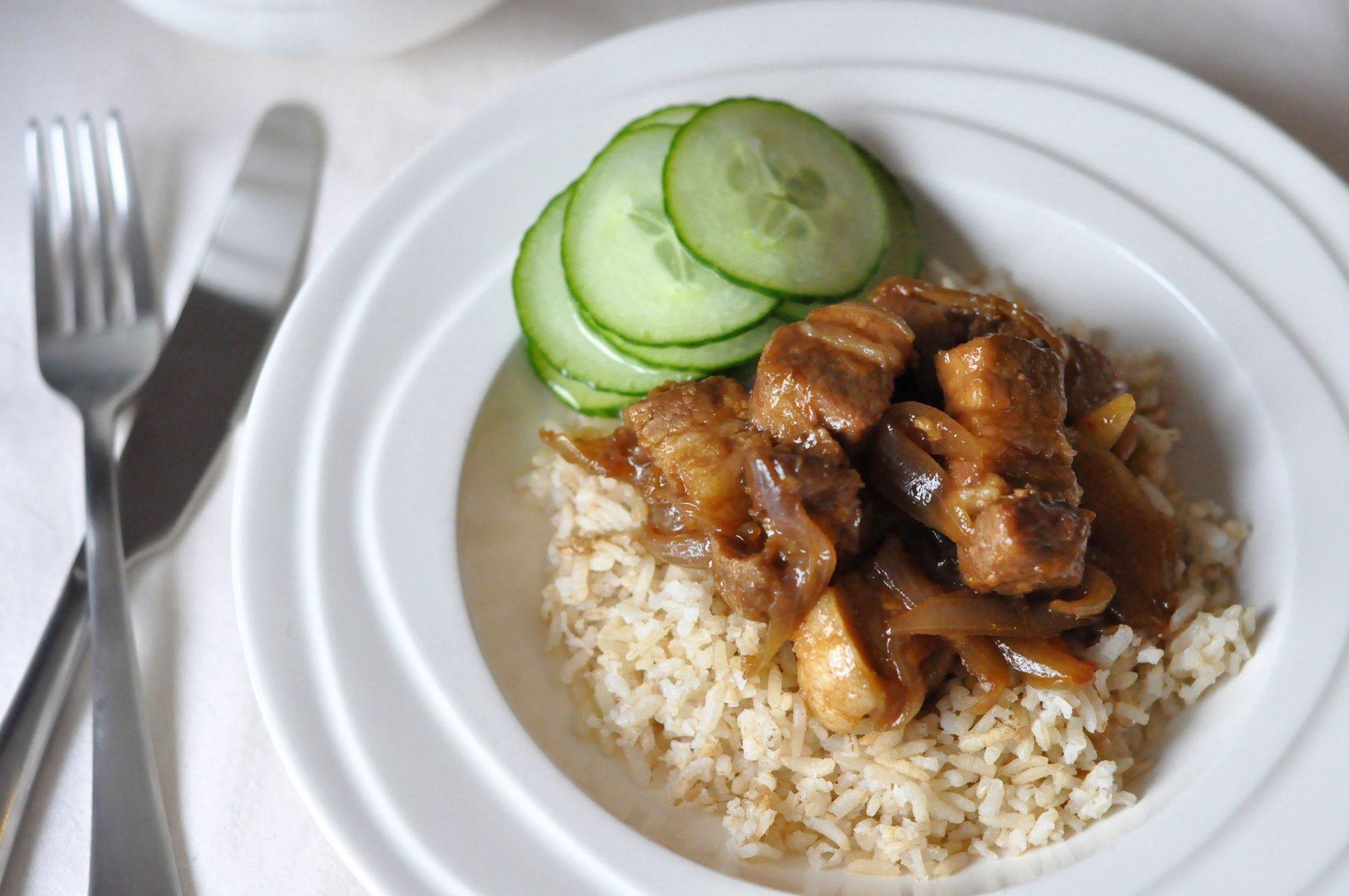 Speklapjes met rijst header