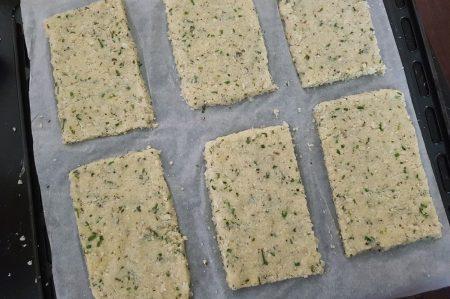 Bloemkoolpannenkoeken voor de oven