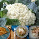 Bloemkool als alternatief voor brood, rijst en aardappel