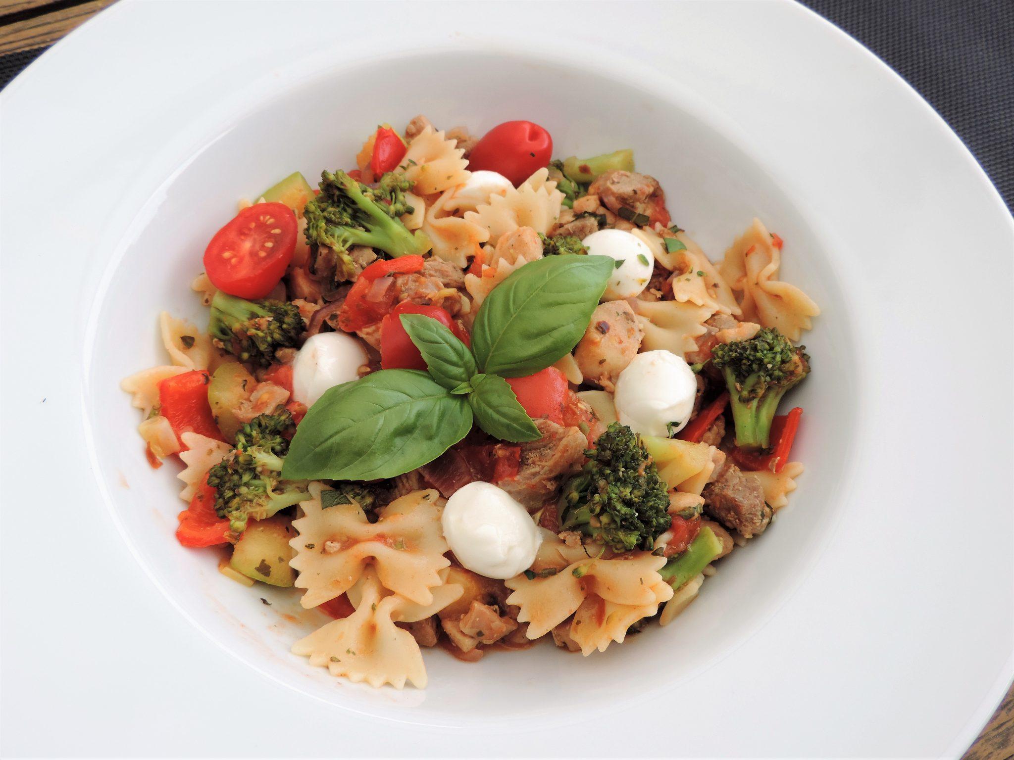 Italiaanse wok schotel met broccoli