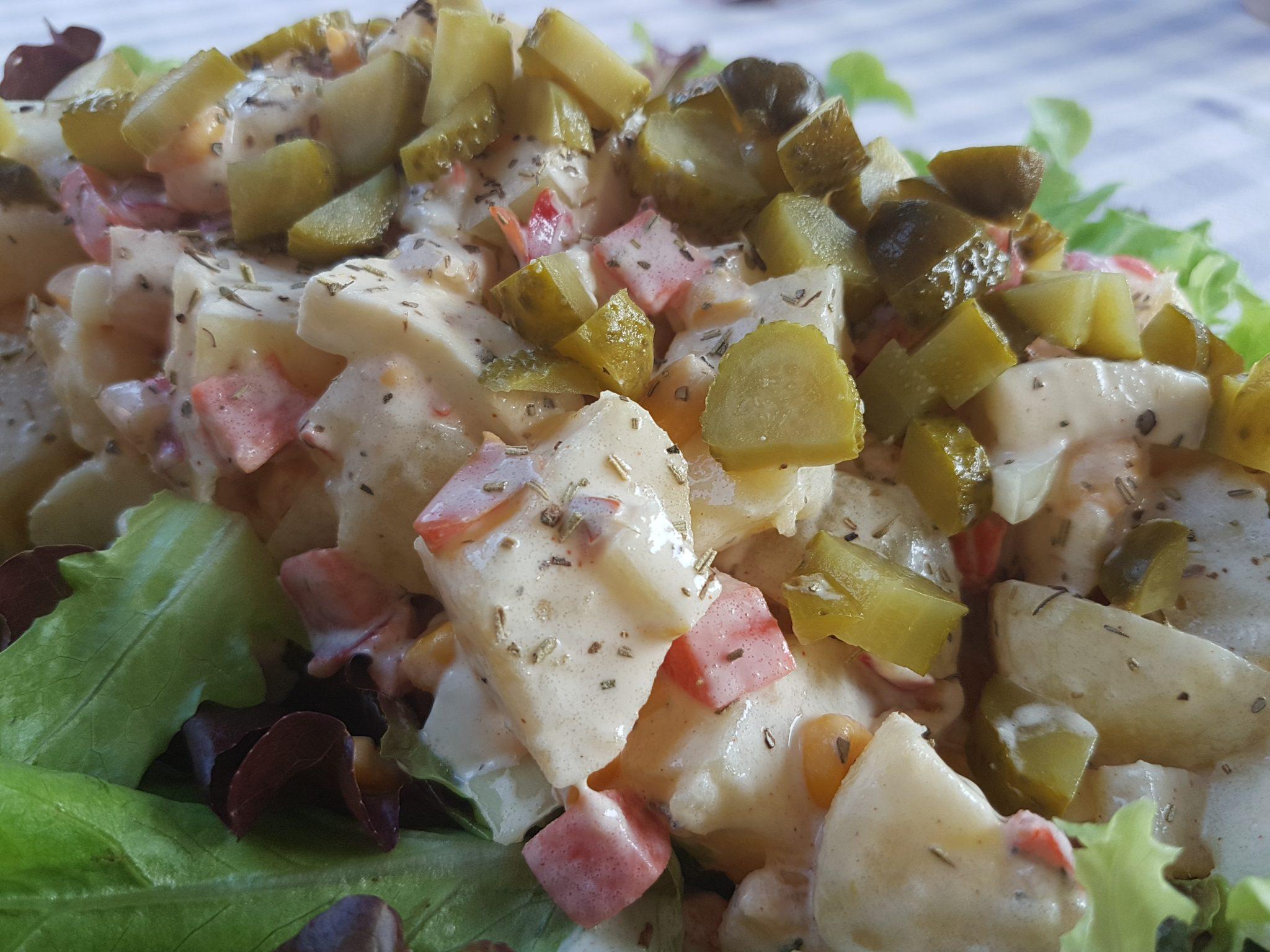bbq in de tuin Aardappelsalade Maken