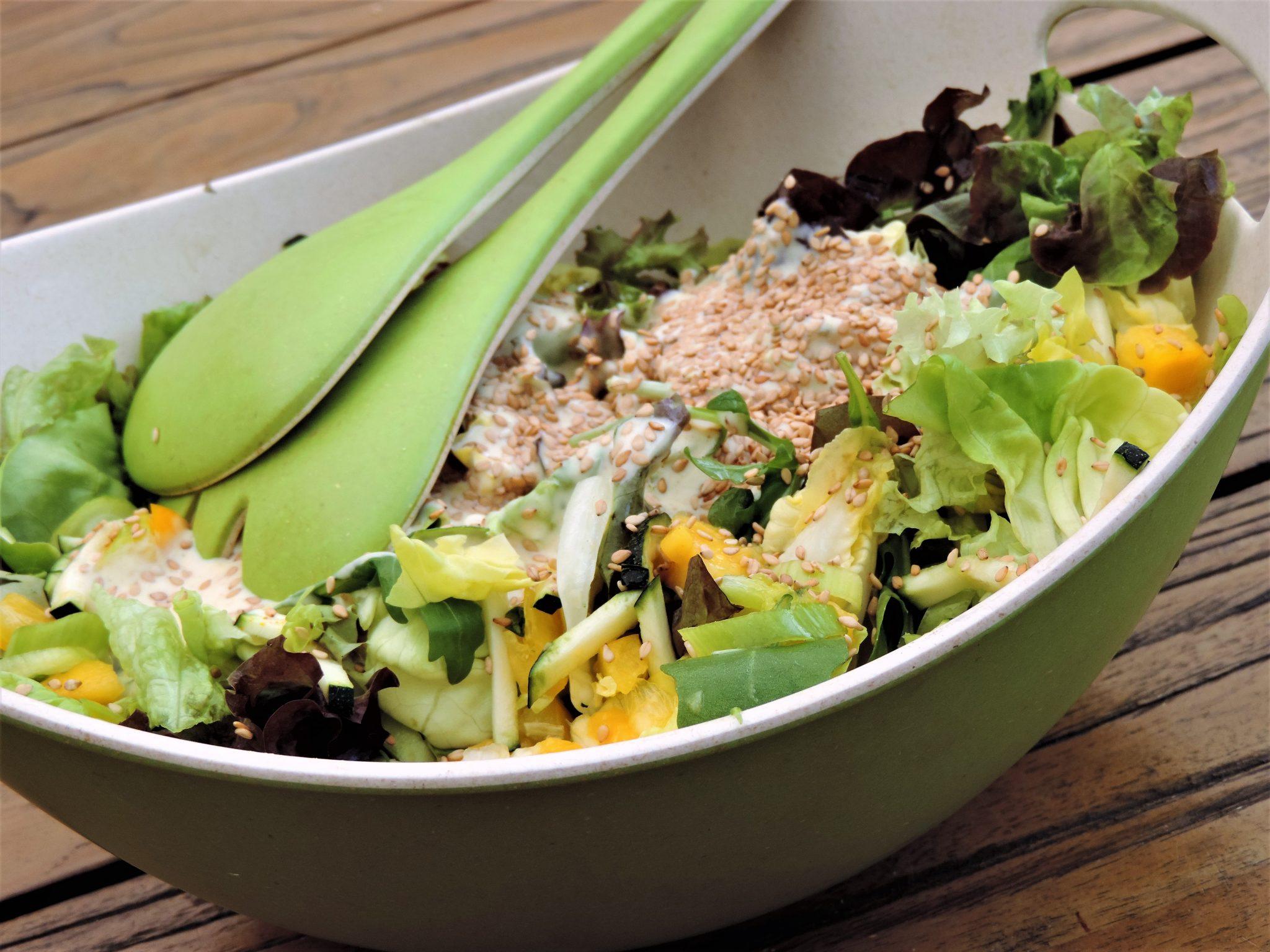 gemengde salade tropisch