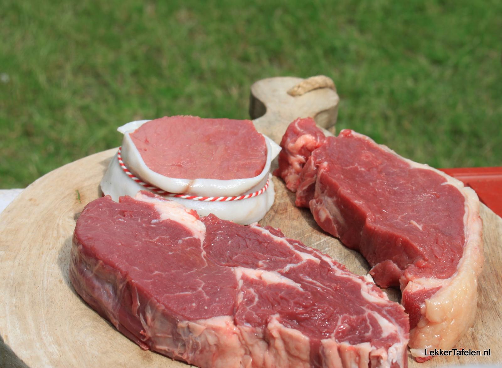 Iers Rundvlees op de barbecue