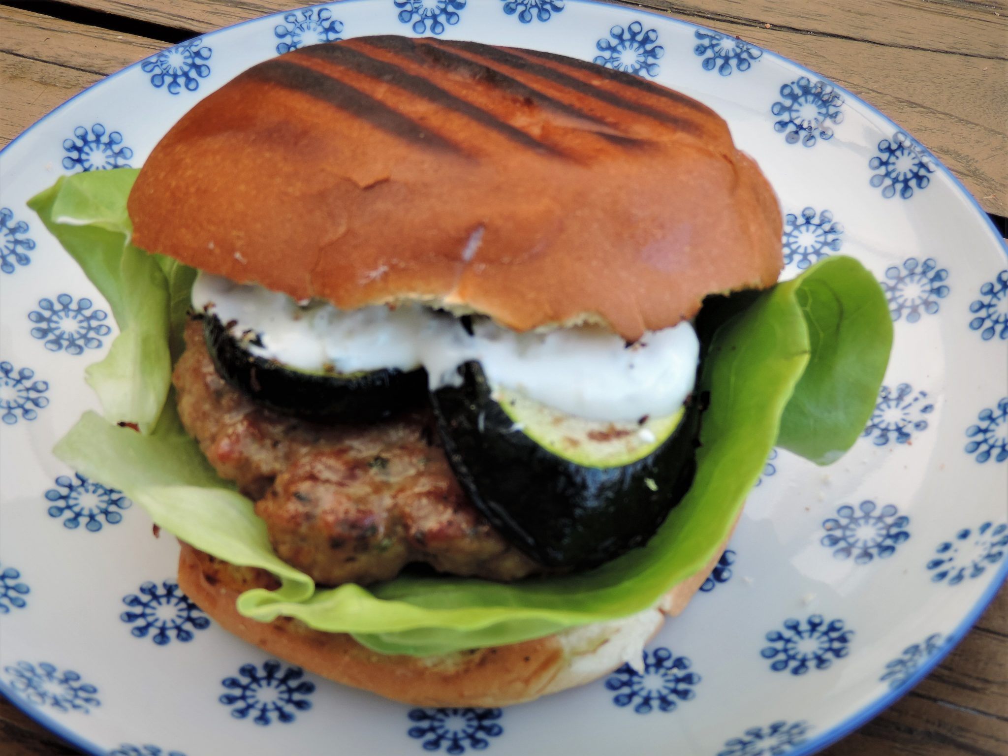 lamsburger hamburger