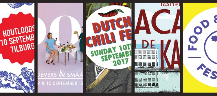 Vijf foodfestivals met één missie