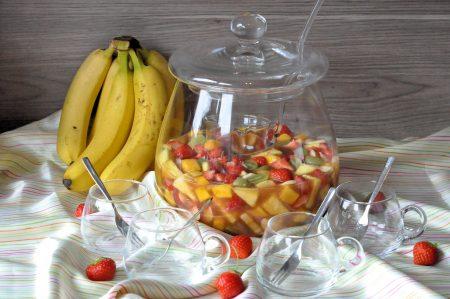 Vruchtenbowl van vers fruit