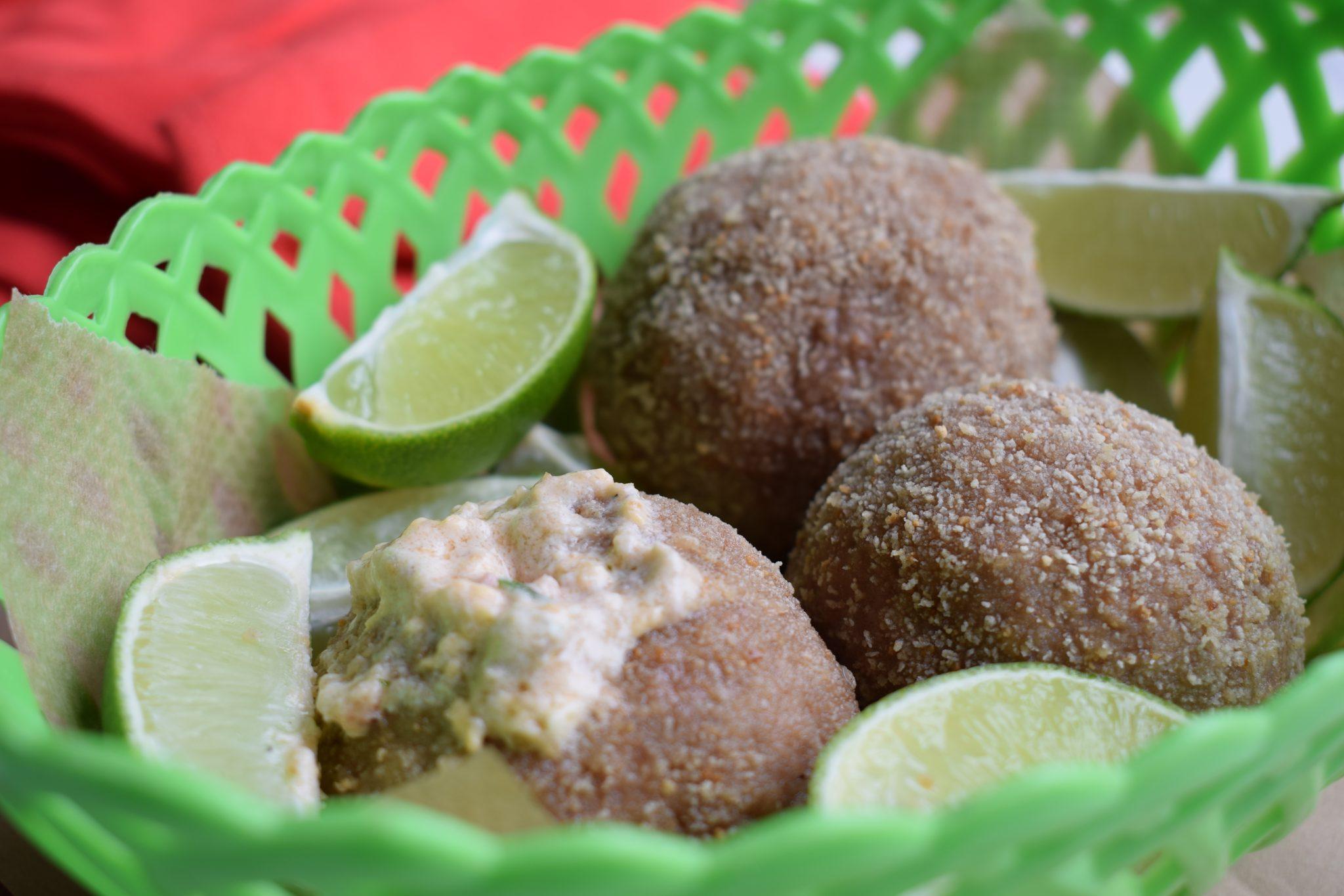 Gevulde gehaktballen met limoen