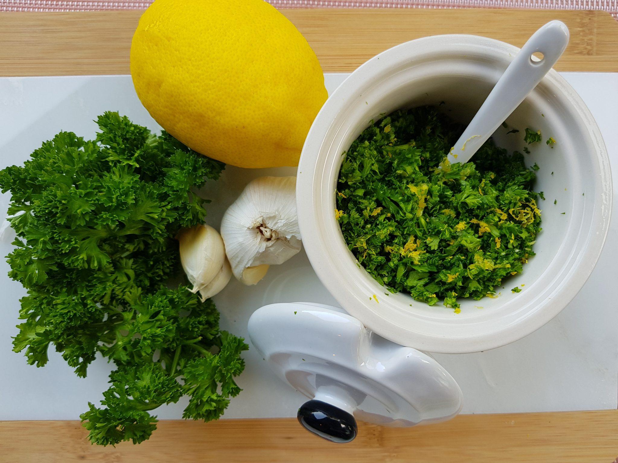 Gremolata; dé smaakmaker uit de italiaanse keuken lekker tafelen