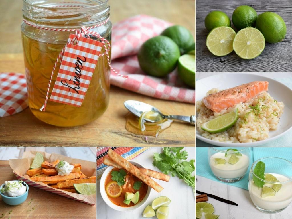 Limoen recepten