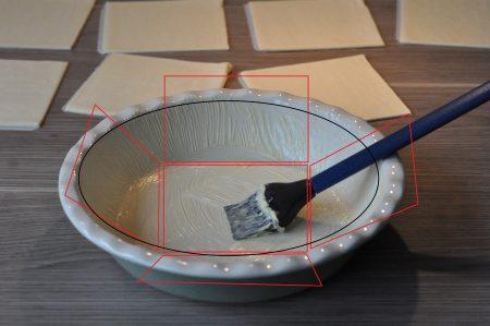 Hartige taart met savooiekool ovenschaal