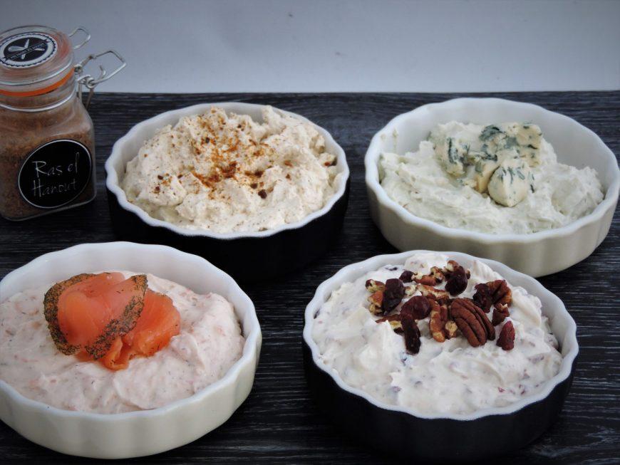 Goede Borrelsalades met roomkaas; 4 heerlijke variaties | Lekker Tafelen BR-78