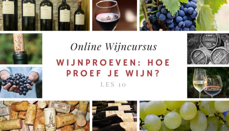 Online Wijncursus - Wijnproeven hoe proef je wijn_ - les 10