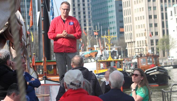 Culinaire zeiltocht Helena Rotterdam Asperges Zeilboot Oudste zeilschip De Oosterschelde 8437