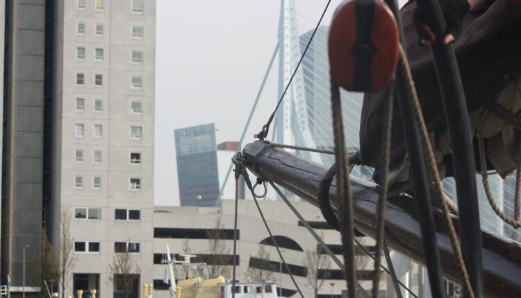 Culinaire zeiltocht Helena Rotterdam Asperges Zeilboot Oudste zeilschip De Oosterschelde 8446