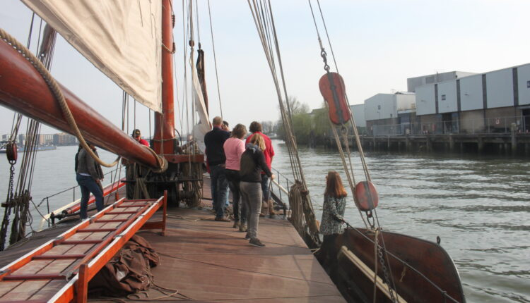 Culinaire zeiltocht Helena Rotterdam Asperges Zeilboot Oudste zeilschip De Oosterschelde 8456