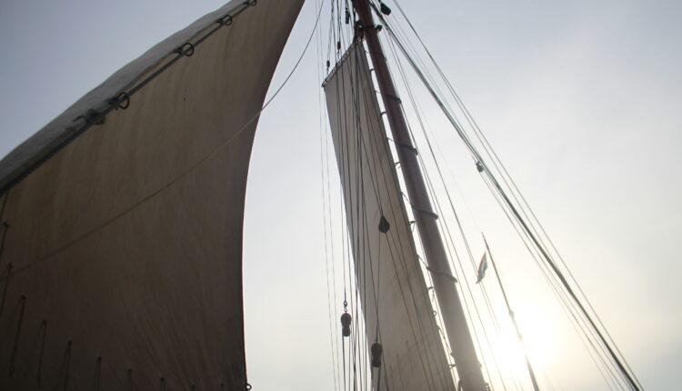 Culinaire zeiltocht Helena Rotterdam Asperges Zeilboot Oudste zeilschip De Oosterschelde 8471